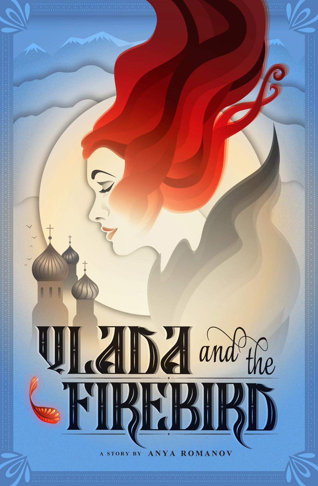 Vlada and the Firebird book cover