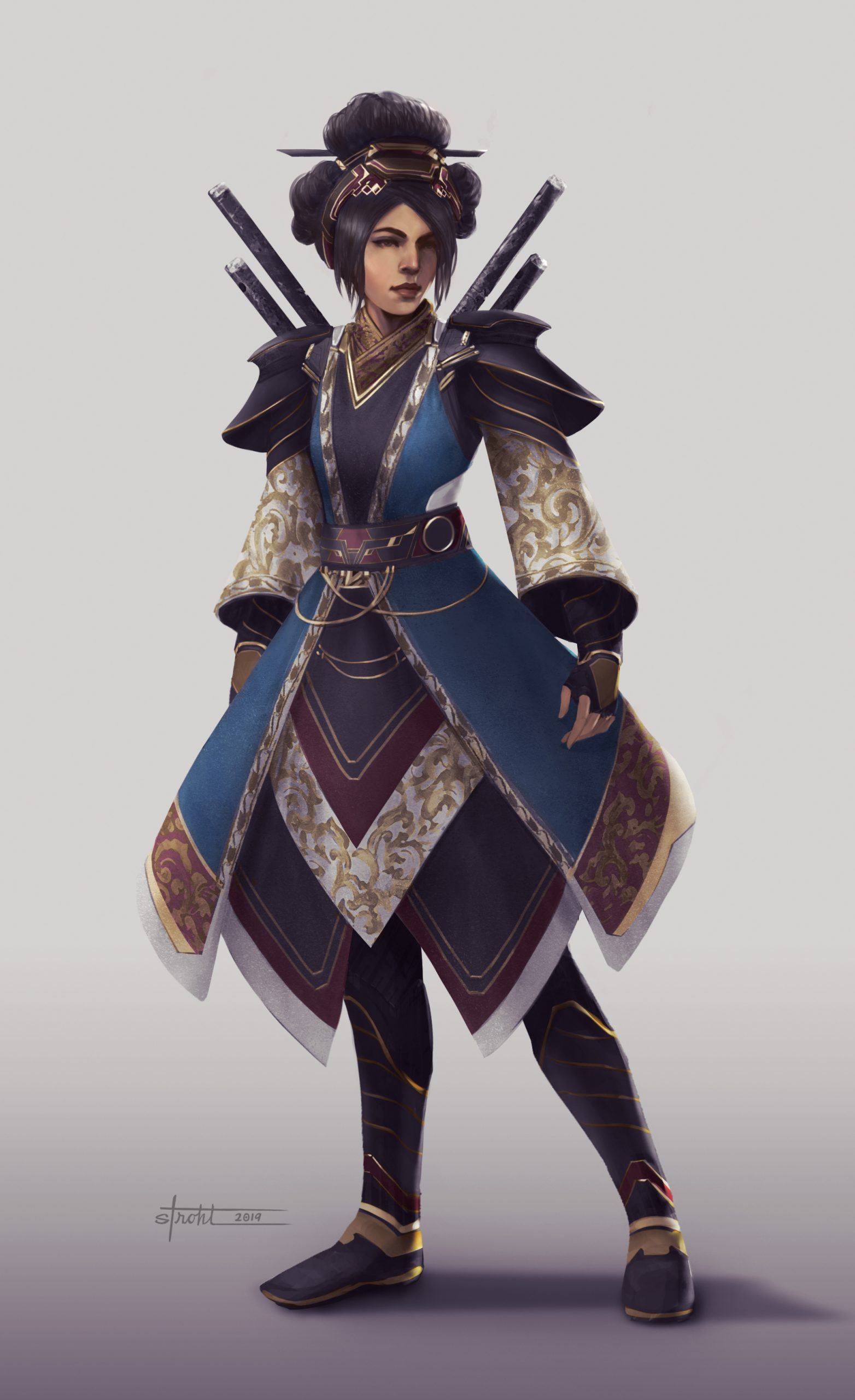 Battle Royale Character 1 by Jessica Strohl