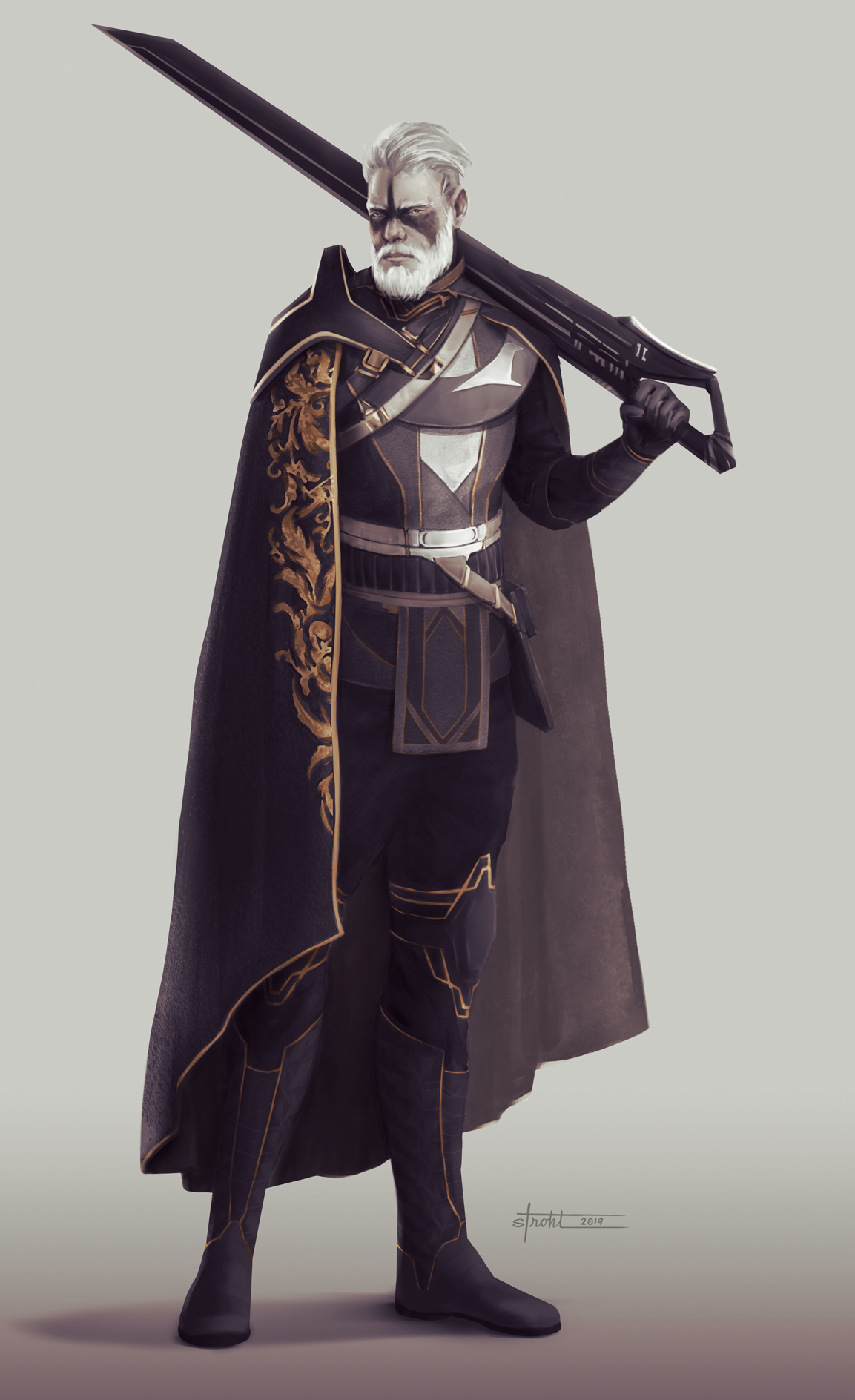 Battle Royale Character 2 by Jessica Strohl
